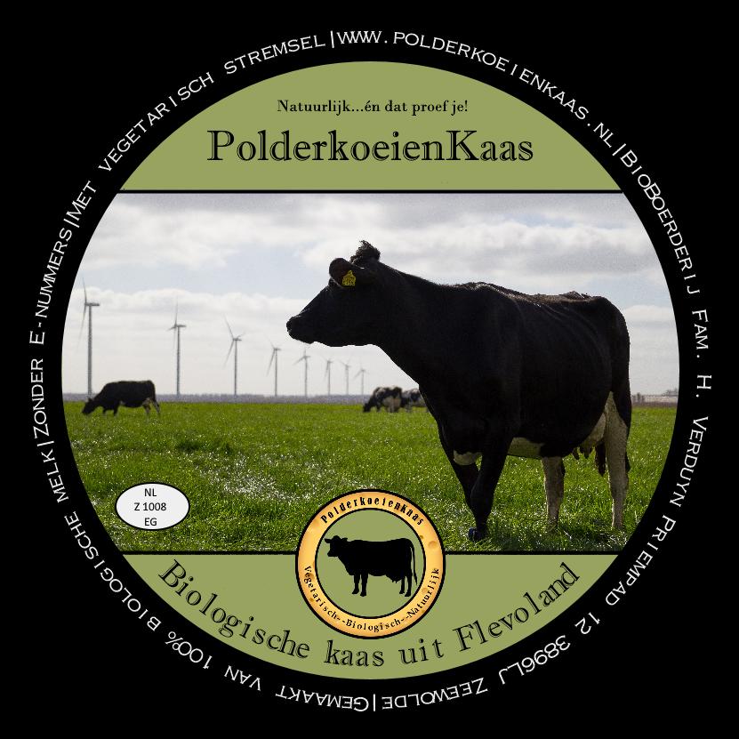 Label Polderkoeienkaas